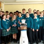 mario-robot-with-secondary-school-students